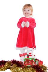 kleines Weihnachtsmädchen III