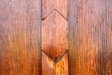 Wooden door background of Chedi Mahamongkon Bua, Roi-et poster