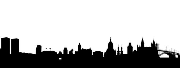 Mainz Silhouette