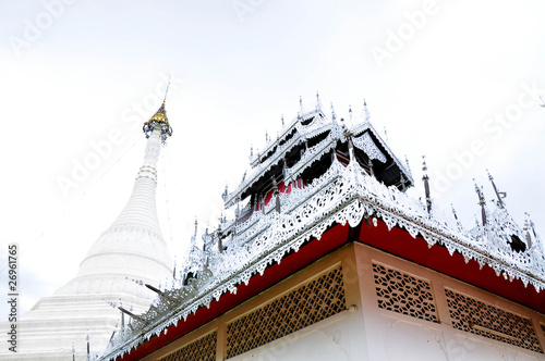 Pagoda in Mae Hong Son