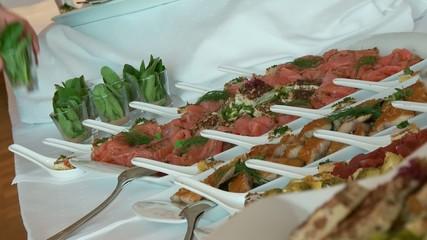 Vorspeise, Salat Buffet