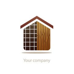 logo entreprise, menuisier, carreleur