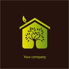 logo entreprise, maison