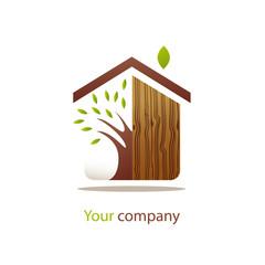 logo entreprise, menuisier