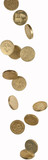 falling pound coins - 26964303