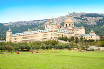 Royal Monastery of San Lorenzo de El Escorial,   Spain