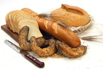 Different bread products