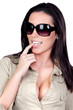 Sexi girl with sunglasses