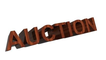 Auction wood