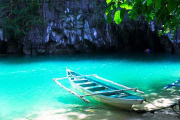 Palawan Island Underground River at Philippines