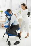 Fototapety Massage in office