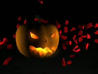 video calabaza halloween