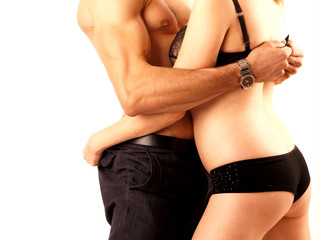 Young Romantic Couple. Models Released