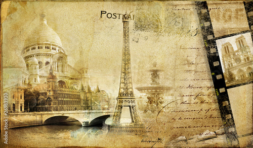 Paris paris.. vintge photoalbum series