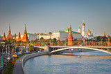 Fototapety Moscow kremlin at sunset