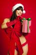 das geschenk öffnen