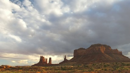 Time lapse Monument Valley