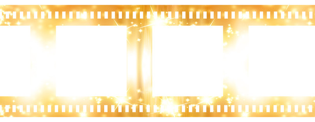 Negative film strip