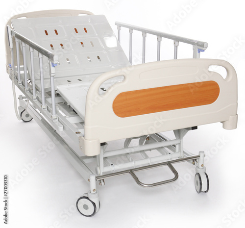 Mobile and adjustable hospital stretcher
