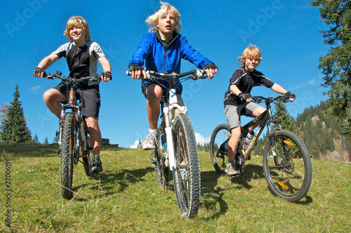 3 Montainbike Kids