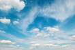 Fototapete Blue sky - Klima - Tag