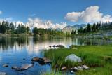 Fototapety Arpy lake, Aosta Valley