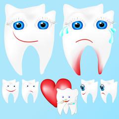 zahn - zähne