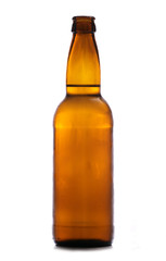 brown bottle of cider
