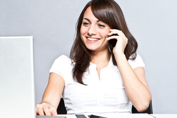 phonecall in office