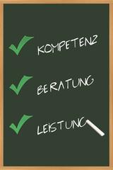 Top  -Kompetenz, -Beratung und Leistung