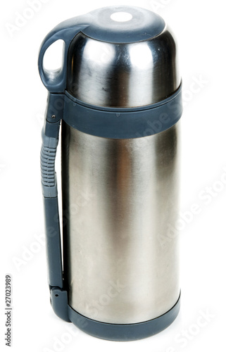 Steel thermos locked insulated