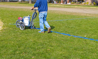 Marking a Playing Field