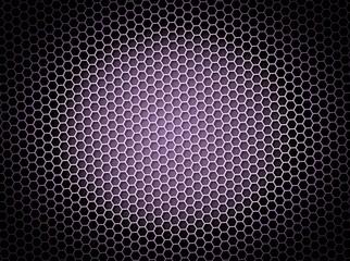 Honeycomb Background Purple