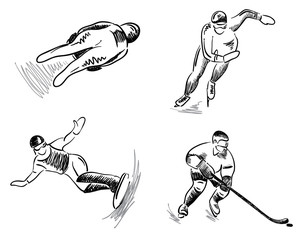 Set -- winter sport
