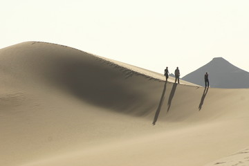 Carovana sulle dune
