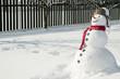 Happy snowman - 27036356