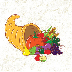 Colorful Cornucopia