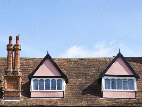 Loft of Clare Priory, Suffolk.