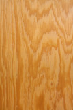 Wood grain on plywood vertical poster