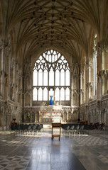 Interior of Lady Chapel in Ely Cathedral.