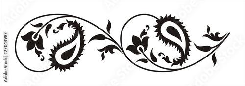 paisley border design