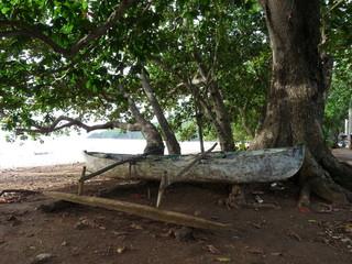 plage mayotte bateau traditionnel