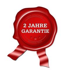 2 Jahre Garantie, siegel, button