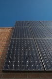 Photovoltaic array in Los Angeles, California