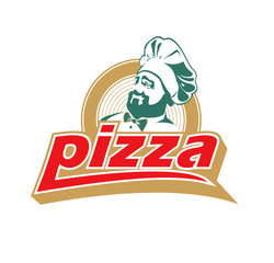 italian cook, pizza, logo