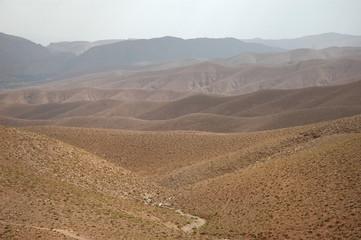 Geröllwüste in Marokko, Afrika