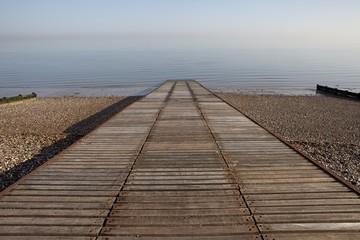 Slipway to ocean at Herne Bay in Kent