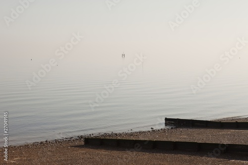 Coastal seashore, herne Bay, Kent