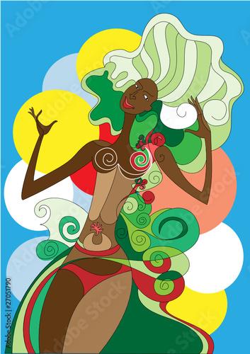 Samba singer