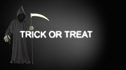trick or treat animation